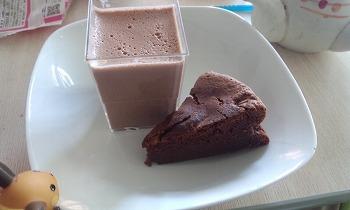 ミルクチョコレートプリン クラシックショコラ 盛り付けてみた