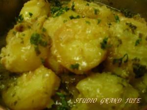 ジャガイモのピカタ煮