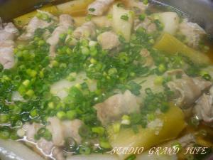 豚肉と葱のとろとろ煮