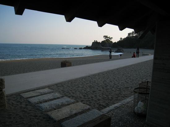 2010/04/05桂浜休憩所