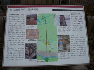 国分寺の古代道路