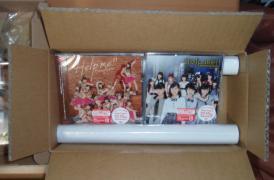 タワレコオンラインで買ったらオマケのポスターが付いてきた