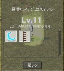 ブログ用農場レベル11