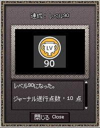 ブログ用レベル90