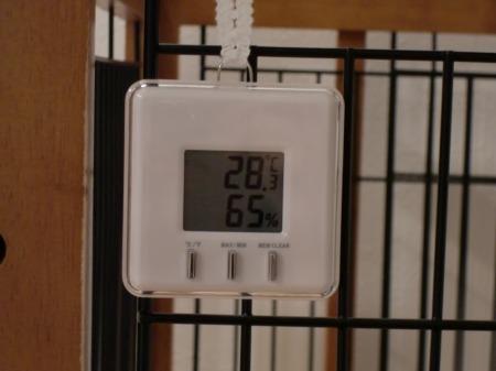 温湿度計♪