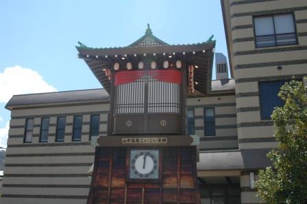 山中温泉_からくり時計-5