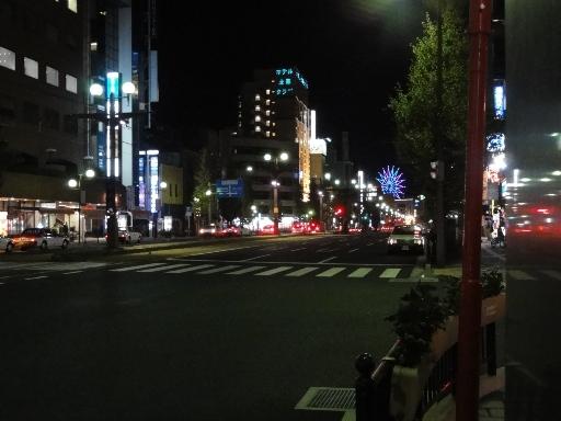 夜の鹿児島市内