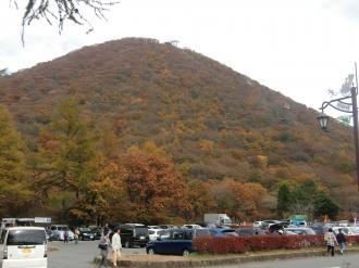 紅葉の榛名富士