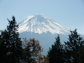 五胡台の富士山*