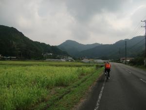 蔵田方面へ