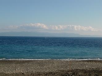 蒼い駿河湾