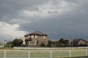 黒い雲が(汗)