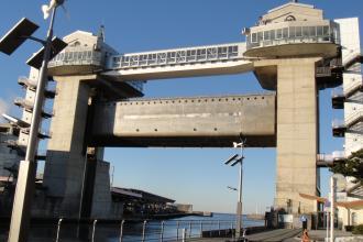 沼津港 大型展望 水門