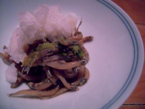 氷魚、花山椒、筍