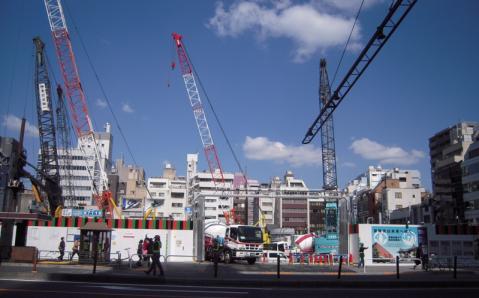 歌舞伎座が消えていた