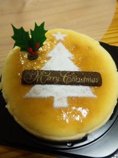 チーズケーキ@クリスマス