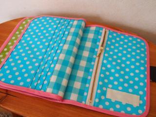 【040】3人用母子手帳ケース