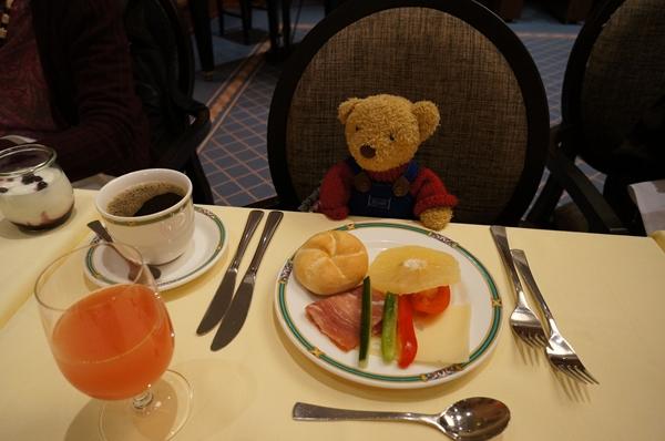 ケンピンスキ朝食