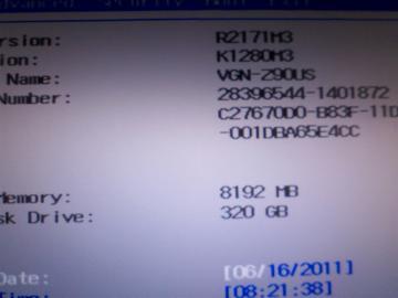 typeZ BIOS memory