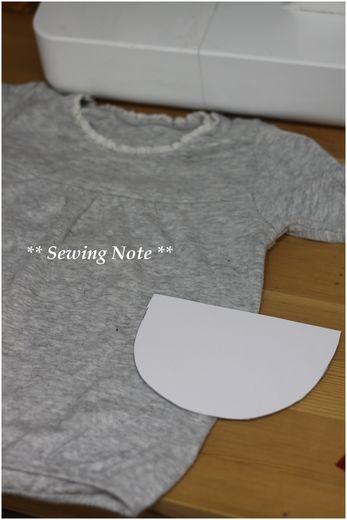 ポケット本体型紙
