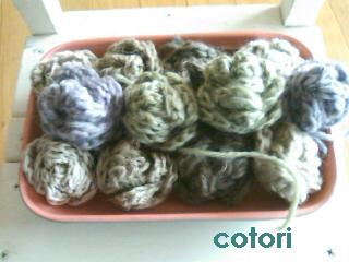 編み花 1