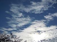 11月4日 吾川の空