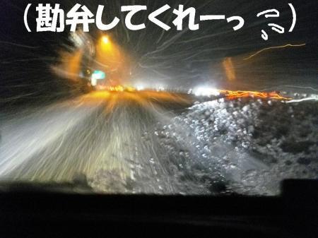 名阪国道(雪)