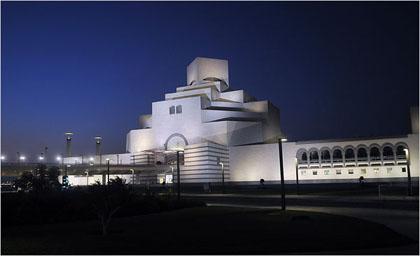 イスラム美術館夜景