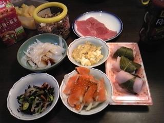 夕食20100226