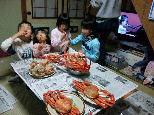 20111230 紅ズワイ