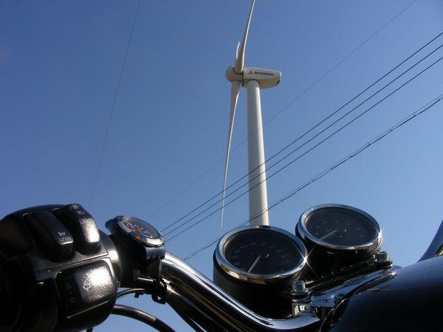 風車とスポ