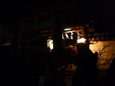 神社で初詣