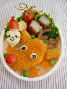 トナカイkunのお弁当