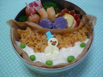 雪だるまkunのお弁当2
