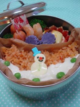 雪だるまkunのお弁当