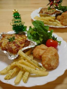 クリスマスキッズディナー