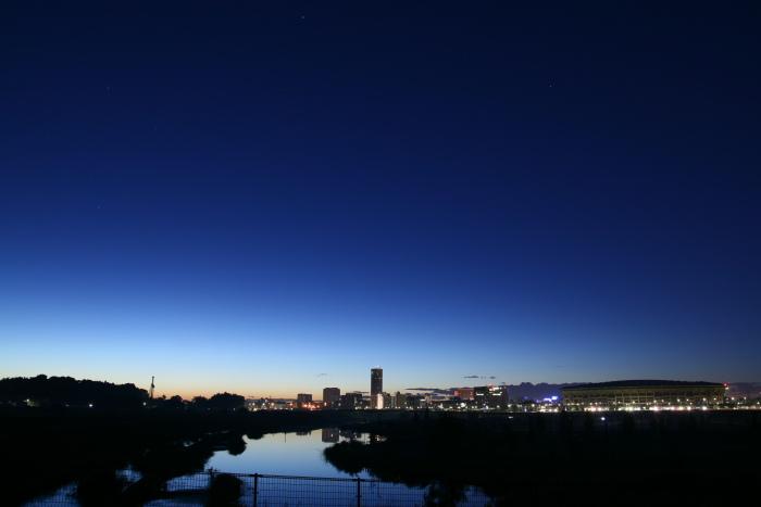 20101011新横浜貯水池1