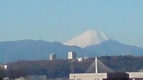 新年の富士