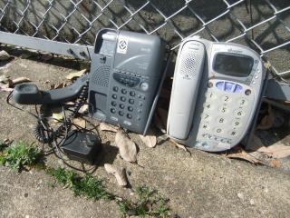 2台の電話機_2010-04-28