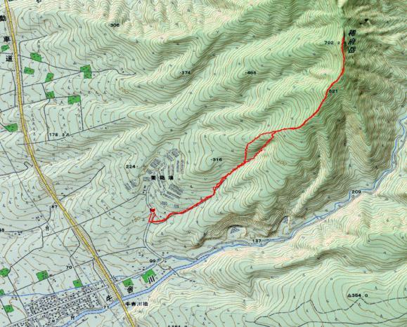 稀府岳map2