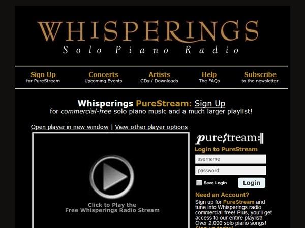 wisperings solo piano