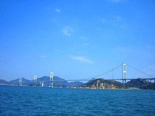 しまなみ海道もいつの間にか遠くに