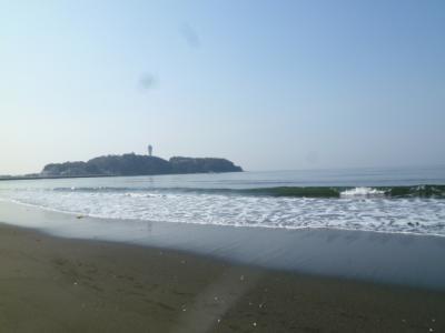 西浜から江ノ島