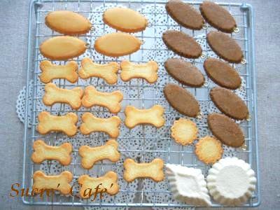 クッキーとタルト台