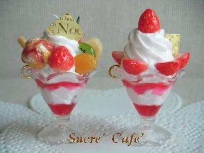 苺パフェ2種