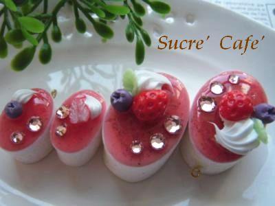 イチゴムースケーキ②