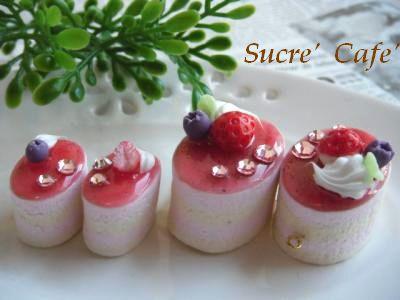 イチゴムースケーキ③