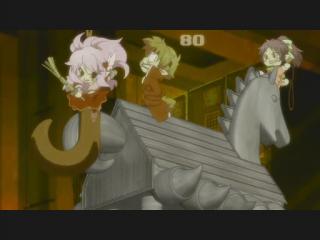 バカとテストと召喚獣 第08話「暴走と迷宮と召喚獣補完計画」.flv_001034575