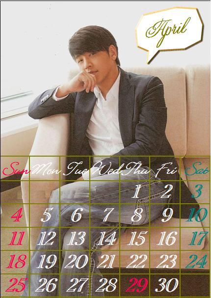 カレンダー・・・・・・4
