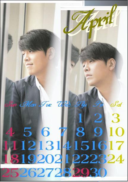 カレンダー・・・4
